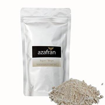 BIO-Ingwer | Ingwerpulver | Ingwerwurzel gemahlen (250g) von Azafran® -