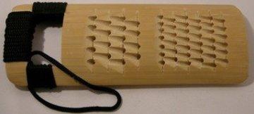 Ingwerreibe Bambus