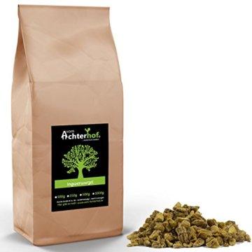 500 g Ingwerwurzel geschnitten getrocknet Ingwer Tee Kräutertee vom-Achterhof -