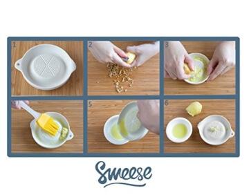 Ingwerreibe, Porzellan Stabile Ingwer Reibe, von Sweese -