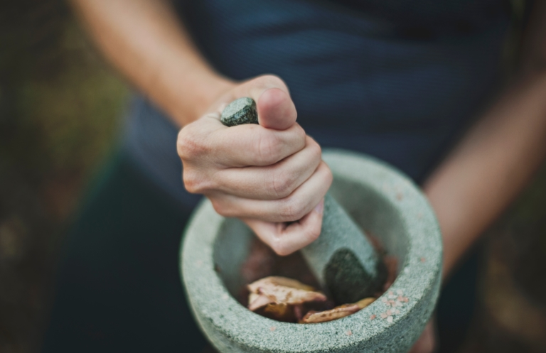 Ingwerreibe Keramik